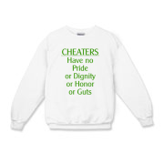 Cheaters Kids Crewneck Sweatshirt