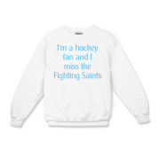 Fighting Saints Kids Crewneck Sweatshirt