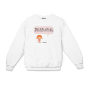 Selling Up Kids Crewneck Sweatshirt