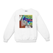 I Love Poker Kids Crewneck Sweatshirt
