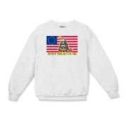 Don't Tread on me- Revolutionary Kids Crewneck Swe