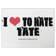 I Love To Hate Tate Cutting Board