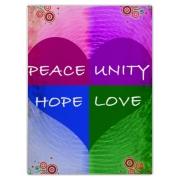 This creative design symbolizes living together in unity and peace with everything and everyone. Sure to inspire and remind everyone that we are all one.