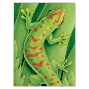 Day Gecko Cutting Board