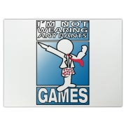 INWAP Games Logo Accessories Cutting Board