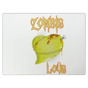 A Little Zombie Love to your Brain Cutting Board