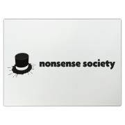 Nonsense Society [light] Cutting Board