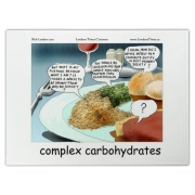 This Londons Times Cartoon is a favorite among foodies, philosophy buffs, and people who just love to laugh.  It's colorful, its funny, and its affordable.  Happy Shopping.