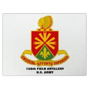 158th Artillery, MLRS - Pyrex Kitchen Cutting Board