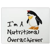 Cute tubby penguin design for nutritional overachievers - a nice way of saying I´m a little overweight
