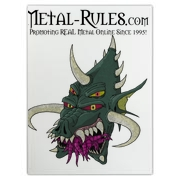 Official Metal-rules.com Demon products.