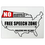 Let everyone know that America is a Free Speech Zone and that the first Amendment makes it so.  From sea to shining sea.