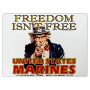 Freedom isn't free, so thank the United States Marines and all the men and women who fight to protect our country!