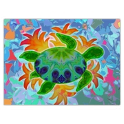 Flame Turtle Large Cutting Board