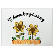 Thanksgiving fall flowers on cutting boards, home decor and decorations in beautiful autumn colors  for Thanksgiving Day at: <b><a target=blank href=http://www.bonfiredesigns.com/thanksgiving.htm> Thanksgiving at Bonfire Designs </a></b>