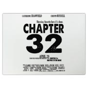 Chapter 32 Movie Poster Cutting Board