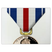 Pennies For Heroes Medal Cutting Board