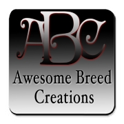 Awesome Breed Creations Cork Bottom Coaster