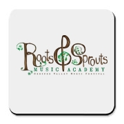 Roots & Sprouts Cork Bottom Coaster