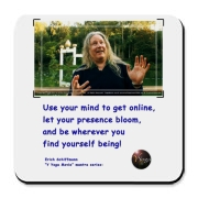 Use your mind to get online, let your presence bloom; and be wherever you find yourself being! Erich Schiffmann's Describes Yoga in Y Yoga Movie See this in the award winning documentary Y Yoga Movie! Y Yoga is available at http://store.yyogamovie