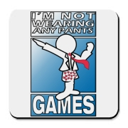 INWAP Games Logo Accessories Cork Bottom Coaster