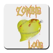 A Little Zombie Love to your Brain Cork Bottom Coa