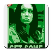 Casey Anthony Gear Cork Bottom Coaster