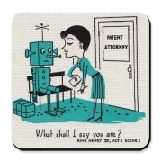 Sophisticated humor for sophisticated robots. 4 of a set of 4.