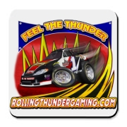 Rolling Thunder Gaming Cup logo Designed by Tooslow Graphix.