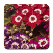 flower cork coasters