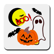 Halloween ghosts and pumpkins on Halloween T-shirts, gifts and favors! Trick or treat in style with our new designs, have fun and be safe on Halloween! To see more personalized designs, please visit my website at http://www.bonfiredesigns.com