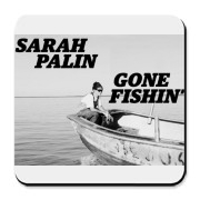 Sarah Palin - Gone Fishin' T-shirt