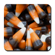 candy corn coaster