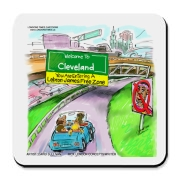We love Lebron, but have a feeling Cleveland may feel a little down about his latest decision.  But all is not lost. Cleveland will continue to be the heart of basketball and rock and roll.  Get your collectible Lebron James tee, mug, hoodie, and more her