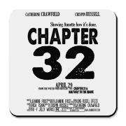 Chapter 32 Movie Poster Cork Bottom Coaster