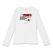 If I Die... Women's Fitted Baby Rib Long Sleeve Te