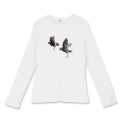 NEW! Storm-Petrels women's long T