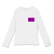 Satanic Porn Women's Fitted Baby Rib Long Sleeve T