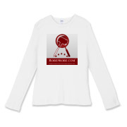 RobeProbe Women's Fitted Baby Rib Long Sleeve Tee