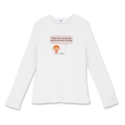 Selling Up Women's Fitted Baby Rib Long Sleeve Tee