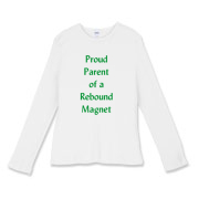 Parent of Rebound Magnet Women's Fitted Baby Rib L