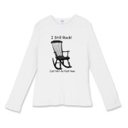 I Still Rock! Women's Fitted Baby Rib Long Sleeve