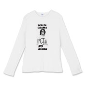 Malia Obama - no nukes T-shirt