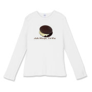 Make Whoopie Women's Fitted Baby Rib Long Sleeve T