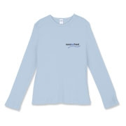 Women's Fitted Baby Rib Long Sleeve Tee
