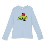 Thea's World Women's Fitted Baby Rib Long Sleeve T