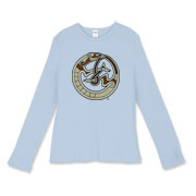Nordic Ferret Women's Fitted Baby Rib Long Sleeve