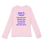 Cake Eater Women's Fitted Baby Rib Long Sleeve Tee