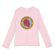 Mayan Power - Women's Fitted Baby Rib Long Sleeve