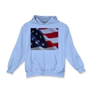 OLD GLORY -  Kids Hooded Sweatshirt